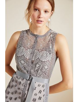 Byron Lars Gisella Lace Sheath Dress by Byron Lars