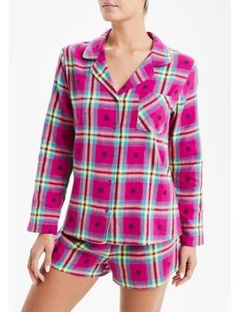 Star Check Short Pyjama Set by Matalan