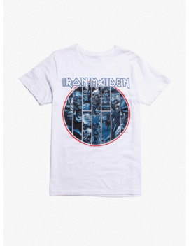 Iron Maiden Circle Of Eddies T Shirt by Hot Topic