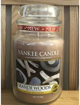 Yankee Candle Large Jar Seaside Woods Limited Edition Htf by Ebay Seller