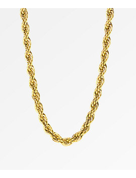 "The Gold Gods Rope Chain 28"" Necklace by The Gold Gods"