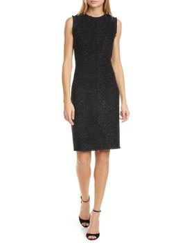 Kate Spade Tinsel Tweed Sleeveless Wool Blend Sheath Dress by Kate Spade New York