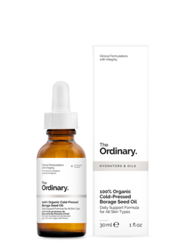 100% Organic Cold Pressed Borage Seed Oil by The Ordinary