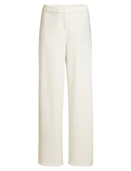 Travel Ponte Straight Pants by Eileen Fisher