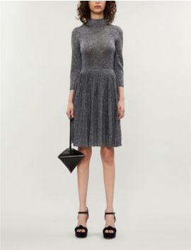 Noaleen Metallic Stretch Knit Midi Dress by Ted Baker
