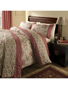 Kashmir Easy Care Duvet Cover Set by Catherine Lansfield