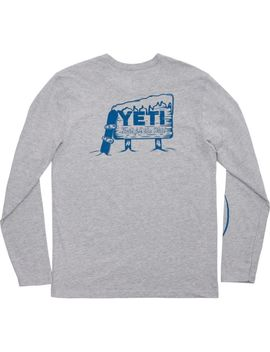 Yeti Men's Boarding Bear Long Sleeve Shirt by Yeti