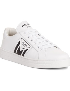 Low Top Court Sneaker by Prada