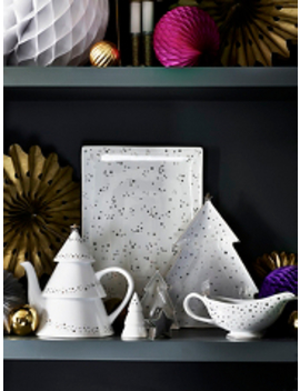 Grey Speckle Teapot by Asda