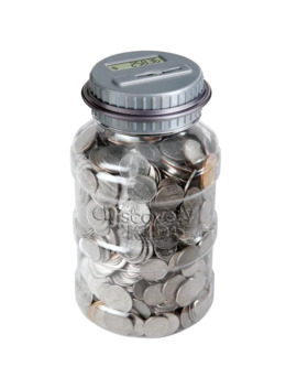 Black Series Coin Counting Jar by Black Series