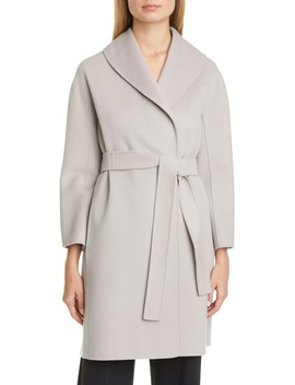 Messi Wool Wrap Coat by Max Mara