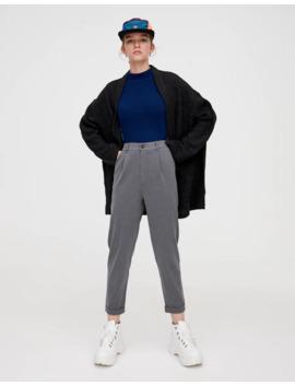 Gri özel Dikim Pantolon by Pull & Bear