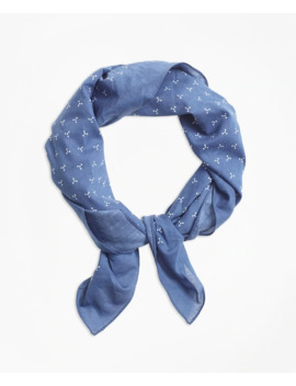 Ditsy Print Bandana by Brooks Brothers