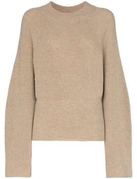 Arden Ribbed Knit Jumper by Nanushka