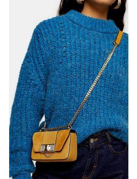 Spice Mustard Mini Cross Body Bag by Topshop