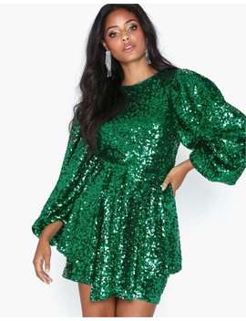 Shout Out Sequin Dress by Nly Trend