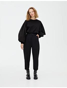 Siyah Pensli Pantolon by Pull & Bear