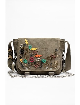 Ready Made Xs Canvas Bag by Zadig & Voltaire