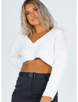 Lorrie Crop Jumper by Princess Polly