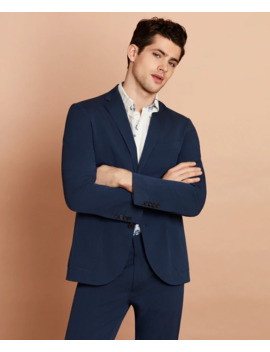 Seersucker Two Button Sport Coat by Brooks Brothers