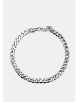 Silver Chain Link Bracelet by Miss A