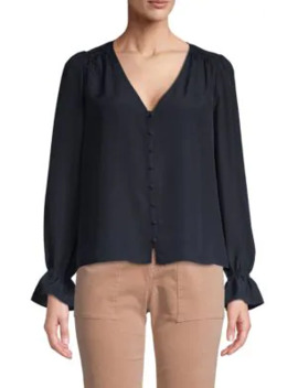 Ruffled Long Sleeve Top by Joie