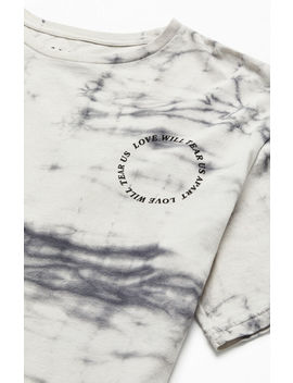 Pac Sun Tear Us Apart Wash T Shirt by Pacsun