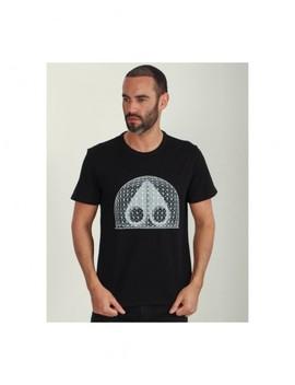 Moose Knuckles Biosphere T Shirt Colour: Black by Moose Knuckles