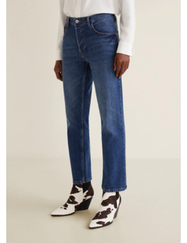 Sayana Straight Jeans by Mango