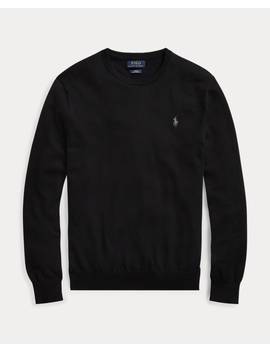 Slim Fit Baumwollpullover by Ralph Lauren