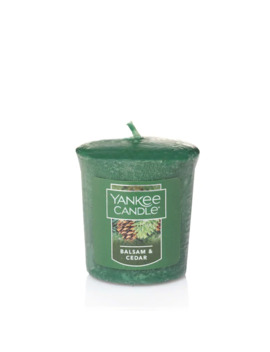 Yankee Candle Samplers Balsam & Cedar Votive Candle by Yankee Candle