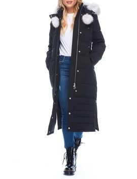 Saskatchewan Long Down Parka With Genuine Fur Trim by Moose Knuckles