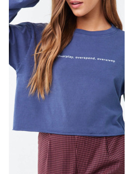 Oversleep Graphic Tee by Forever 21
