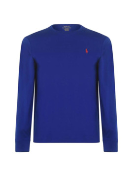 Long Sleeve Jersey T Shirt by Polo Ralph Lauren