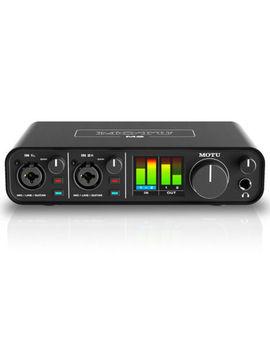 Motu M2 2x2 Usb Audio Interface With Studio Quality Sound by Motu