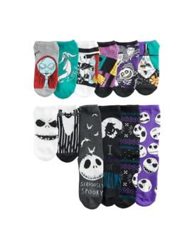 Women's Nightmare Before Christmas 12 Days Of Socks Socks by Licensed Character