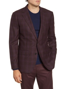Jetsetter Slim Fit Plaid Wool Sport Coat by Bonobos