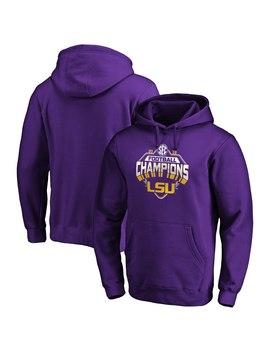 Lsu Tigers Fanatics Branded 2019 Sec Football Champions Pullover Hoodie – Purple by Fanatics Branded