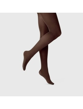Women's 50 D Opaque Tights   A New Day™ Brown by A New Day