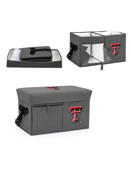 Texas Tech Red Raiders Ottoman Cooler & Seat   Gray by Picnic Time