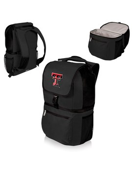 Texas Tech Red Raiders Zuma Cooler Backpack   Black by Picnic Time
