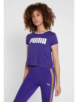 Performance Retro Tee   T Shirt Print by Puma