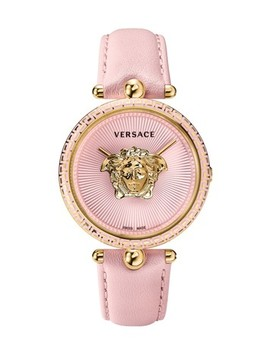 Ip Yellow Gold Palazzo Empire Watch by Versace
