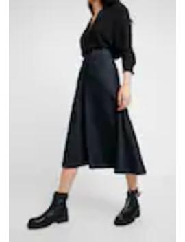 Mellam Midi Skirt   A Lijn Rok by G Star