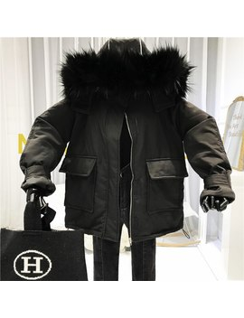 Chaquetas Mujer Invierno 2019 Female Jacket Women Winter Coat Korean Safari Style Hooded With Fur Padded Jacket Warm by Ali Express.Com