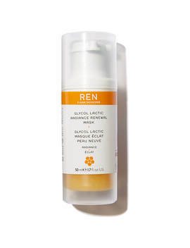Ren Glycol Lactic Radiance Renewal Mask by Look Fantastic