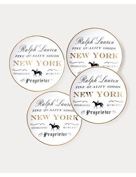 New York Canapé Plate Set by Ralph Lauren