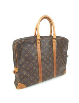 Porte Documents Voyage Business #2144l86 Brown Laptop Bag by Louis Vuitton