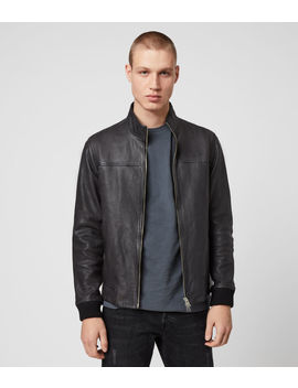 Astoria Leather Jacket by Allsaints