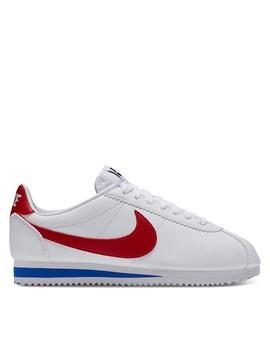 Women's Cortez Sneakers In White by Nike
